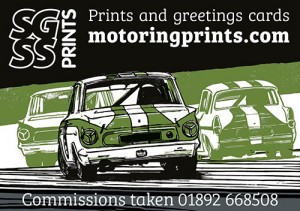 Motor sport prints and greetings cards